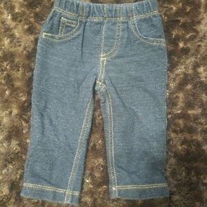 Carter's Baby Jeggings sz 6 months